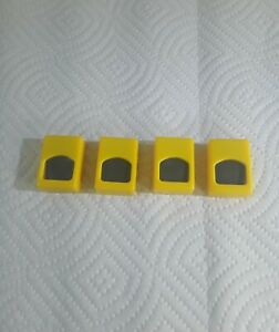 The Simpsons Jeopard Game 4 Yellow Contestant Clickers Replacement Parts