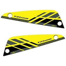 Stickers 3D Compatible With Bags Suzuki V-Strom 26-29 L 2017-2021 Yellow