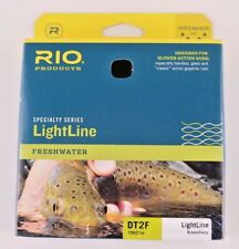 Rio Lightline Fly Line DT2F Brown Ivory Free Fast Shipping 6-20483