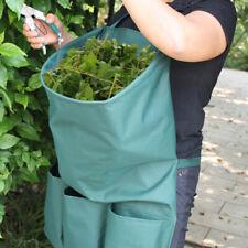 due tasche giardinieri GIARDINO Grembiule GIARDINAGGIO legare Cintura Attrezzi REGALO VERDE