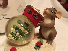 """Charming Tails """"Shake Shake Shake """" Fitz & Floyd Christmas"""