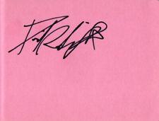 Daniel Radcliffe Autograph - Harry Potter - Signed Page - AFTAL
