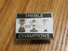 Celtic Treble Winners 2016-17 Fc Pin Badge 2