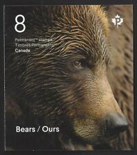 2019         Canada    BEARS / OURS       Brand New 2019 Booklet Issue
