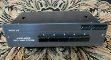 Audio Authority Model 515 Audio Video Switching System Switcher selector 5