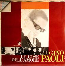 GINO PAOLI - Le Cose Dell' Amore LP 33 GIRI SIGILLATO