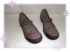 Chaussures  Ballerines  Babies Mauve Noir Palladium Pointure 37