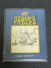 2020 Goodwin Aesop''s Fables 1912 Edition Illustration Relics Card 1:2000