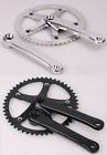 J&L 70s Classic/Vintage Crank Set for  Fixed Gear,Single Speed,Fixie,Track
