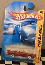 Hot Wheels New Models 2008-029 '70 Pontiac GTO Convertible Muscle Car Spoke Five
