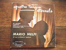 4 tangos éternels par mario Melfi - disque festival n° FY 45 2124 S