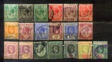 1912-15 Malaya Malaysia Straits Settlements KGV 1c to $5 (19V)  CV  Rm 500