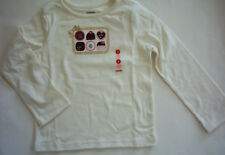 NWT Gymboree Sweeter Than Chocolate Bonbon Ivory Top Shirt 6