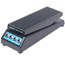 UK Guitar Stereo Sound Volume Pedal for High Impedance Amplitude Adjusted Knob