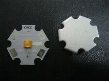 Cree XTE XT-E Neutral White LED + 20mm Star Base 1W 3W 5W led emitter 401lm@5W