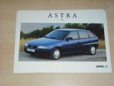 35409) Opel Astra GL Polen Prospekt 199?
