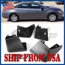 US Black Mud Flaps Splash Guards Fender Front+Rear Fit Nissan Altima 2013-16 FM