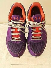 Under Armour Women's Micro Athletic Running Tennis Shoes Size 11 Purple Pink