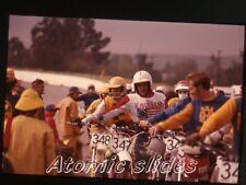 1978 35mm Photo slide  Motocross motorcycle race California #7