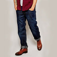 G-Star RAW New Radar Loose Trousers Low Fit Dark Aged Denim Hipster Style Jeans