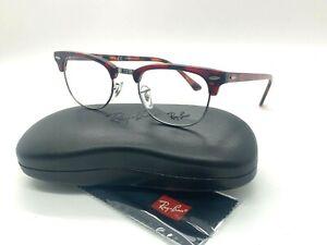 NEW  Ray Ban Eyeglass Frames RX 5154 5911 Red Havana  49-21-140MM /CASE