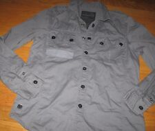 MARC ECKO S CUT SEW UTILITY LONG SLEEVE BUTTON Shirt Top