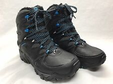 MERRELL WOMEN'S WATERPROOF INSULATED BLACK LACED BOOT POLARLAND 6.5 BLACK NIB