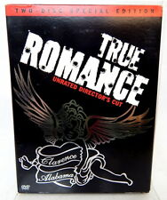 2A TRUE ROMANCE DVD 2 Disc Special Edition Unrated Director's Cut Cult Classic