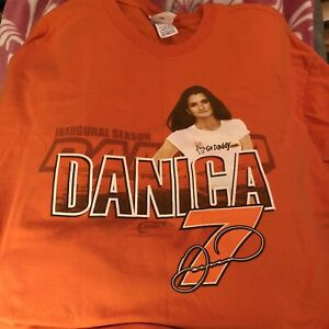 DANICA PATRICK Inaugural Season NASCAR CHASE VINTAGE T-Shirt 3XL 100% GO DADDY