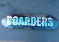"New Boarders Skateboard Deck Measures 32""× 8"" Sealed"