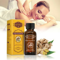 30ML Lymphatic Drainage Ginger Oil Skin Care Essential Oil Body Spa Massage