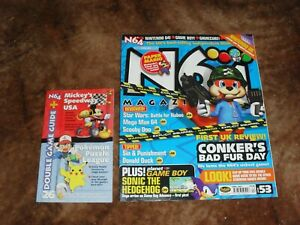 N64 Magazine Issue 53 with cover book