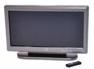 Dolls House Modern Widescreen Television TV & Remote Control 1:12 Scale