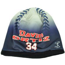 Boston Red Sox Hombre Béisbol Gorro de Punto Cuffless Azul Blanco David Ortiz 34