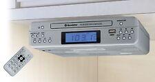 Roadstar CLR-2540UMPSL Undermount Kitchen Radio with CD/MP3/USB/AUX