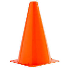 Kids party Orange plastic construction  cones Set of 10