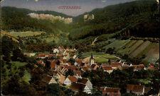Gutenberg Württemberg 1918 Feldpostkarte Eindruck Bohnacker Gasthaus Zum Löwen