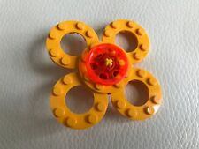 LEGO FIDGET SPINNER - - lego parts only - MY DESIGN - yellow