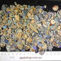 Seam Opal from Lightning Ridge Black Opal Country, Opal Rough Parcel - Ro1536