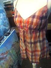 *SÜSS!!  s.oliver Top Oberteil Bluse Shirt M 38 40 Damen,kariert, retro , Pin Up