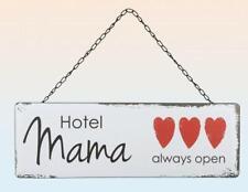Hotel Mama Metall Blech Schild 45 cm Vintage Look,Neu,45 cm Blechschild