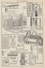 C2824 Frigorifero - Stampa d'epoca - 1936 vintage print