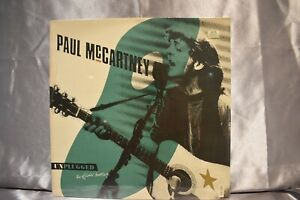 SEALED PAUL McCARTNEY Unplugged The Official Bootleg NUMBERED 1991 LP