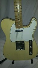 Vintage 1968 Fender Telecaster Maple Cap Neck Electric Guitar USA