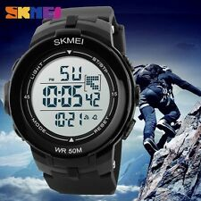 New Men's Teen Swim Dive Army Shock  Waterproof Sports LED Digital watch UM63