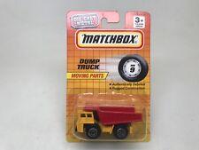 MATCHBOX-DUMP TRUCK-- MB9-SEALED ON CARD-1993---LOOK-----