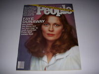 Vintage PEOPLE Magazine, March 28, 1977, FAYE DUNAWAY Cover, ROMAN POLANSKI!