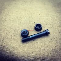 WW2 German Grips Screw  and screw-nuts for Walther P-38. Set