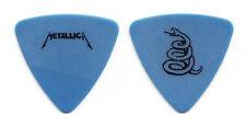Metallica Jason Newsted Blue Coiled Snake Bass Guitar Pick - 1991 Tour
