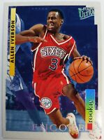 1996 96 ULTRA ENCORE Allen Iverson Rookie RC #270, 76ers HOF, The Answer, Sharp!